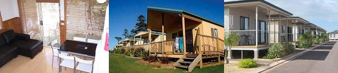 Tourist Park Cabins